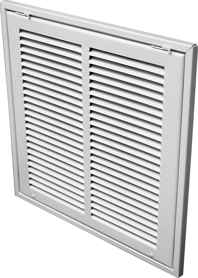 Filter Return Air Grille : Ti steel lanced return air filter grille quot fin