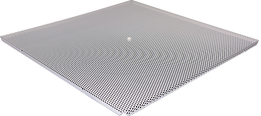 Perforated Lay In Grille : Steel